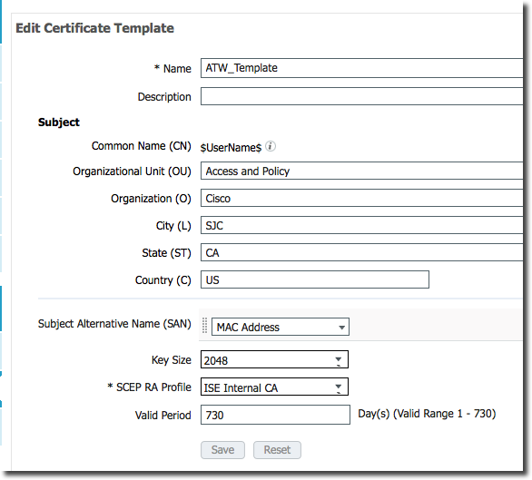 Cisco ISE API for Certificate Provisioning – Security of Everything