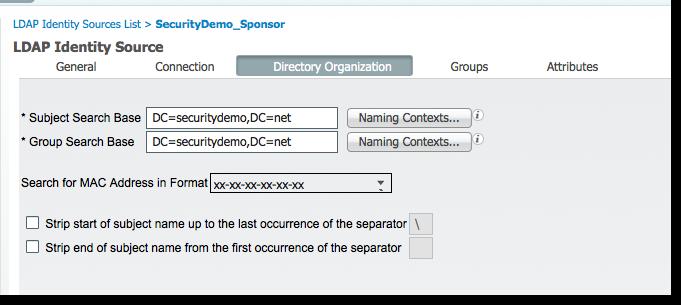 LDAP_DirectoryOrganization